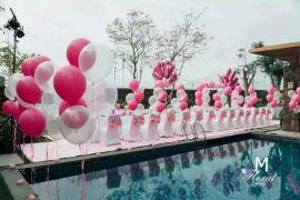 南充空飘气球|求婚气球|气球拱门|创意气球公司|寿宴布置