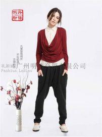 例外初語品牌折扣女裝哪裏進貨,找廣州明浩女裝尾貨批發
