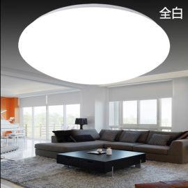 圓形LED吸頂燈簡約現代歐式適用天花板吊頂客廳臥室