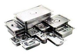 不锈钢份数盆带盖方盆食物盘
