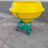 後置大容量塑料桶大容量撒肥機肥料撒播器 施肥機