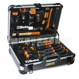 高档手提工具箱生产厂家、EVA模型套装样品箱 铝制医疗运输箱