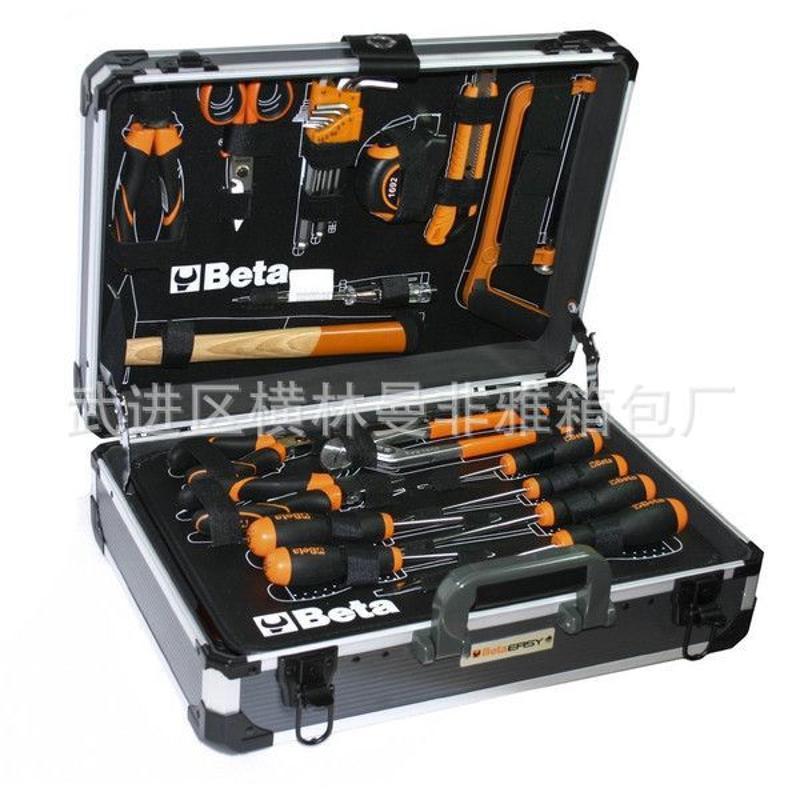 手提工具箱生产厂家、EVA模型套装样品箱 铝制医疗运输箱