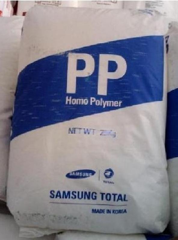 PP聚丙烯 韓國韓華道達爾BJ350包裝容器高剛性PP 高抗衝PP