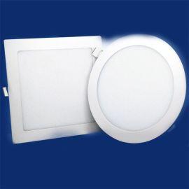 代理led面板灯led 面板灯圆形led灯盘 圆形面板灯驱动