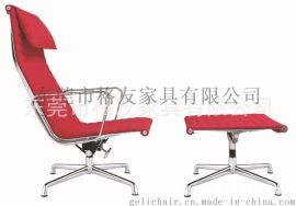 Eames真皮休闲椅,伊姆斯躺椅,办公椅