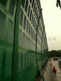 百叶孔隔音声屏障设计与安装施工