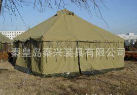 厂家**5*5纯棉大型帆布帐篷 外贸帐野营篷 可定制