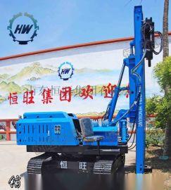 履带式行走打桩机液压打桩机振动锤厂家生产价格