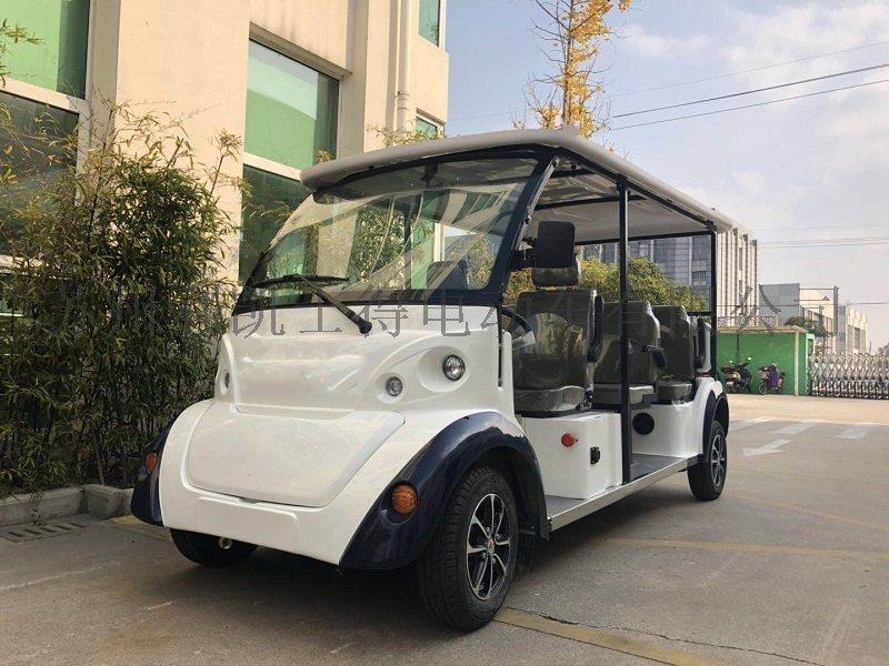 利凱新款Q熊貓四~五座電動巡邏車