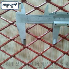 建筑工地专用钢笆网 菱形钢板网 脚踏网