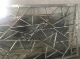 私人會所別墅室內專業土豪金鋁窗花屏風隔斷