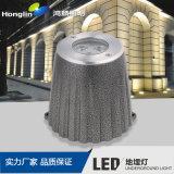 明裝LED地埋燈 大功率牆角明裝地面射燈