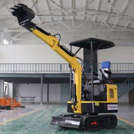 多功能微型挖掘机 液压挖土机 农用履带式挖掘机