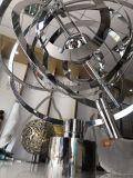 定製創意不鏽鋼旋轉雕塑鏡面不鏽鋼地球儀擺件生產廠家