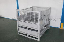供应安徽折叠金属箱生产厂家 图片 大号铁框