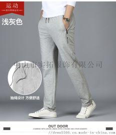 男装男款针织运动休闲时尚卫衣卫裤长裤