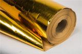 供應安徽鑫茂 金色鋁箔背膠護毯布