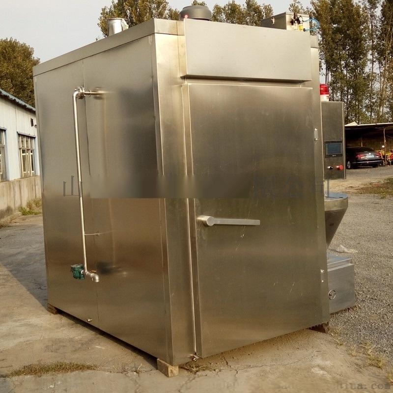 大型紅腸煙燻爐環保無煙型燒烤爐熟食燒雞豆乾煙燻爐