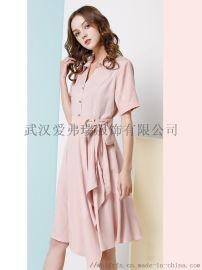 广州服装进货地【现货】百芙伦品牌长款连衣裙