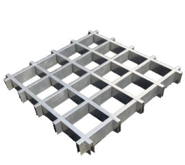 浙江兴发铝材厂家直销阳极氧化铝管材栅吊顶格