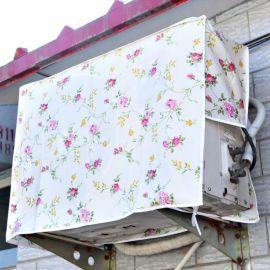 空调防雨布 空调外机广告套 空调挂机防尘罩厂