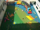 山東菏澤EPDM塑膠 幼兒園小區彩色塑膠地面