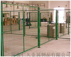 仓库隔离网牢固的车间隔断环保厂区防护防抛网移动隔网