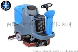 内蒙鸿畅达电动洗地机手推式洗地机
