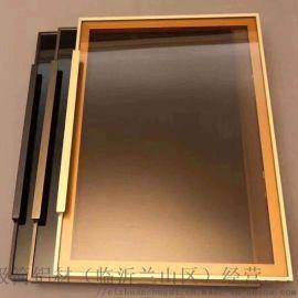 极窄铝框室内门厨房卫生间玻璃门铝合金门极简门