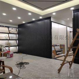 瓷砖展示架 陶瓷样品货架冲孔板 瓷砖货架生产厂家