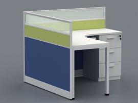 新款辦公室屏風卡位辦公桌
