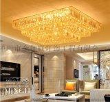 中山酒店大型異性水晶燈,古鎮定做工程定制非標燈