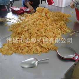 源头工厂定制 500KG/H速冻薯条油炸生产线