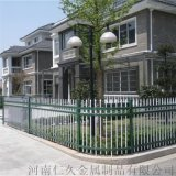 熱鍍鋅鋼材鐵藝小區圍牆欄杆 工地社區圍牆鋅鋼護欄