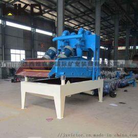 机制砂厂回收设备 尾砂回收机 新型细沙回收机生产线