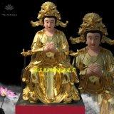 三霄娘娘廠家 送子娘娘神像細節圖 十二老母佛像