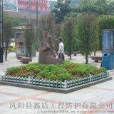 浙江台州绿化塑料栅栏 pvc护栏围栏