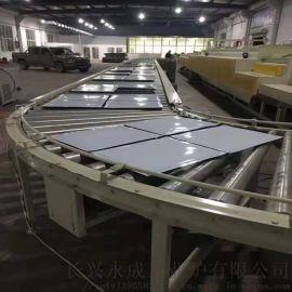 连续式钢板搪瓷烧结炉 高温搪瓷烧结生产线