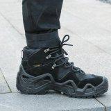 miltec戶外徒步登山鞋沙漠靴防水牛皮**