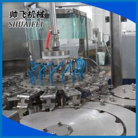 矿泉水自动冲瓶灌装封口生产线 全自动灌装机