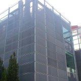幕墙装饰网 长六角穿孔网 外墙装饰铝板装饰网