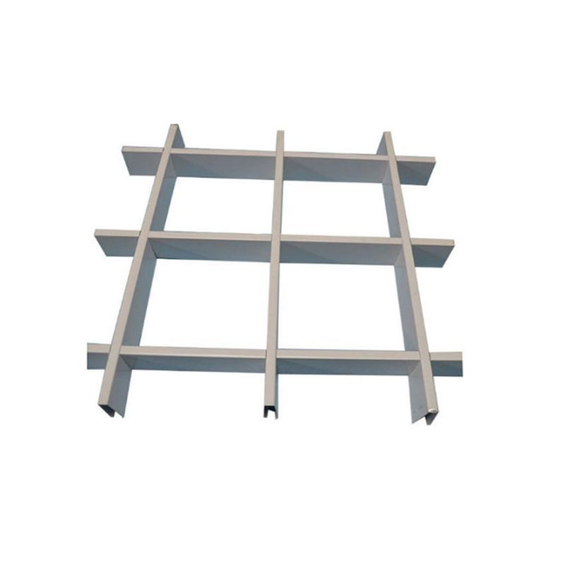 厂家直销铝格栅吊顶铝网格格珊吊顶材料铝格栅
