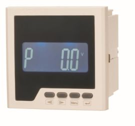 LEF818P型功率表 单相有功功率表 单排显示仪表开孔108*108功率表
