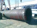 供应唐山路南区35KV电力钢杆 钢管桩基础 电力钢杆