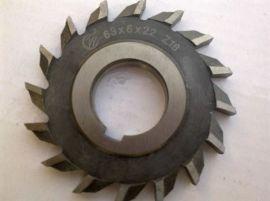 硬质合金焊接三面刃铣刀