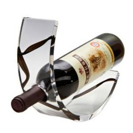 亚克力红酒展示架 单瓶红酒展示架