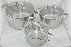 Ticore纯钛汤锅,钛炒锅,钛奶锅