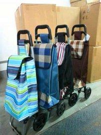 购物车 买菜车 可折叠拉杆车行李车 便携手拉车小推车