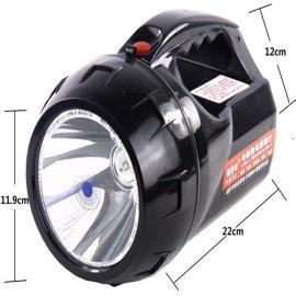 手提灯20W大功率强光远程探照灯LED充电手电筒搜索灯T6户外特价
